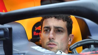 Daniel Ricciardo start na motorwissel achteraan in Monza