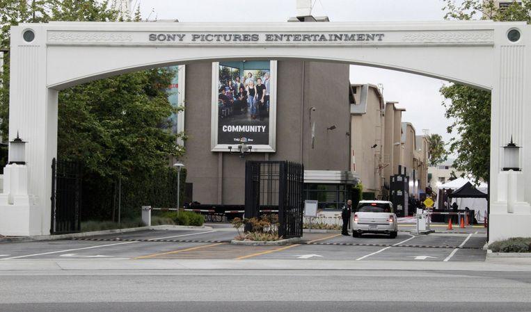 De filmstudio's van Sony in Culver City, Californië.