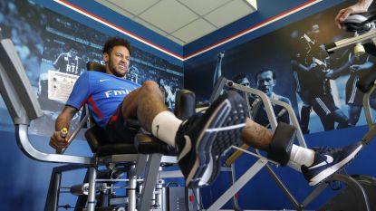 Neymar revalideert weer bij PSG