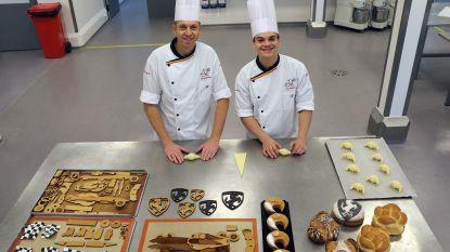 """Berre (20) en leraar Stijn (39) vormen duo op WK voor bakkers in Frankrijk: """"We zijn echte vrienden geworden"""""""