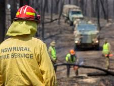 Zes Australische brandweermannen zwaargewond bij crash
