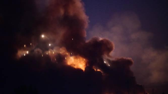 Dode en gewonden bij brand wapendepot Bagdad