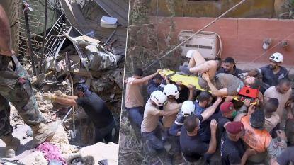 Man na 16 uur gered uit puin in Beiroet