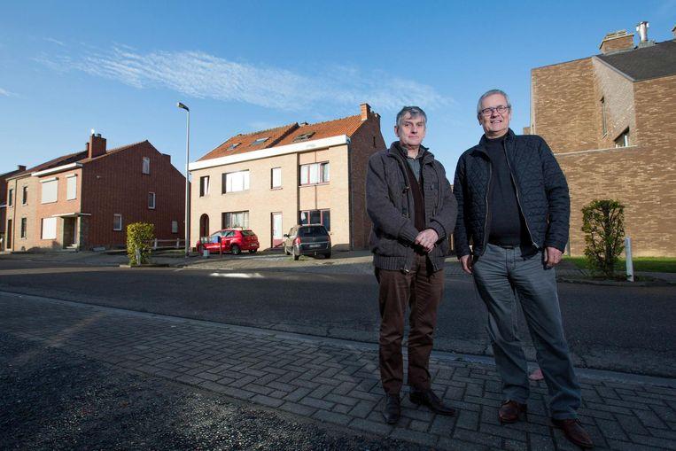Niek Geuens, directeur van vzw Bewust en Georges Feucht, directeur van Nieuw Sint-Truiden.