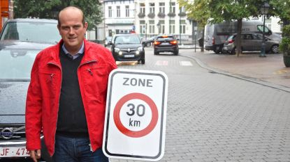 Proefproject zone 30 in stadscentrum