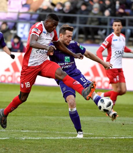 Anderlecht en Moeskroen scoren erop los in knotsgek duel