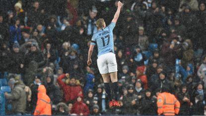 'Good old Kev': De Bruyne dirigeert City naar forfaitzege in FA Cup, Rode Duivel scoort heerlijk én laat scoren