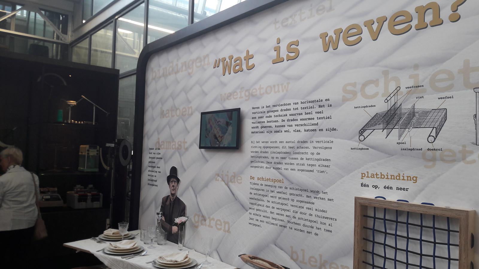Het vernieuwde Weverijmuseum in Geldrop