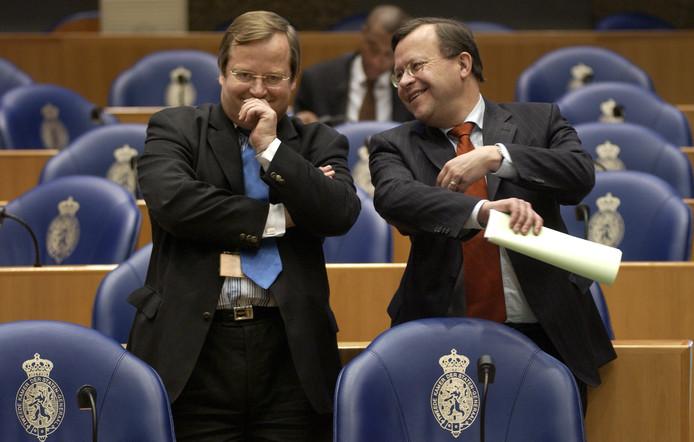 Hilbrand Nawijn en Mat Herben in 2005