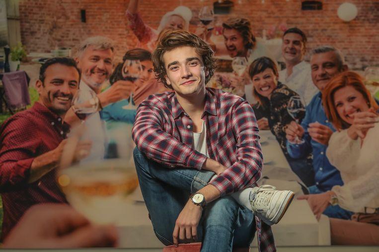 Aaron Blommaert wordt de nieuwe acteur bij VTM-soap familie .