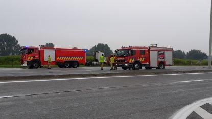 E34 weer vrij na aanrijding tussen vrachtwagens in Assenede