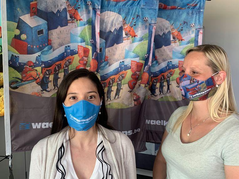 Bij vlaggenfabrikant Waelkens produceren ze sinds kort mondmaskers.