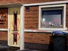 Huis en auto  met verf besmeurd in Opheusden: wie doet dat?