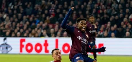 Willem II-aanvaller Nunnely dolgelukkig na zege op Ajax: 'Een droom om in de Arena te spelen'