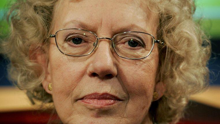Stemactrice Corry van der Linden. Beeld anp