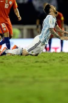 Messi houdt Argentinië op WK-koers tegen Chili