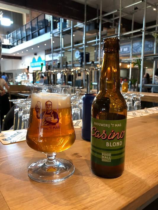 Een Casino-blond, speciaal gebrouwen voor de Foodhall Breda