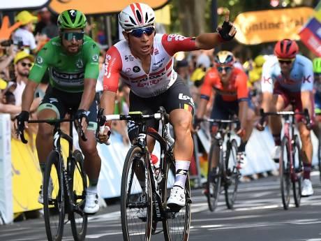 Caleb Ewan s'impose au sprint à Toulouse