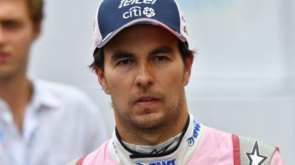 Sergio Pérez weer in beeld bij McLaren als vervanger Vandoorne