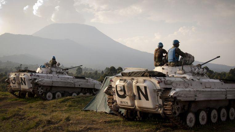 Soldaten van de VN-missie Monusco in Congo. (Archiefbeeld)
