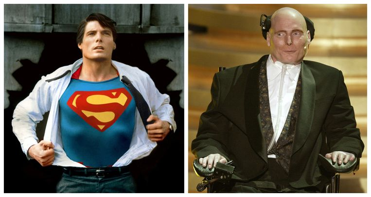 Christopher Reeve werd wereldberoemd als Superman.