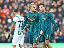Van de Beek laakt slap Ajax: 'Dit had niets met kwaliteit te maken'