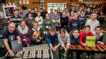 Trommelkorpsen werken samen voor Drums in 't Kwadraat