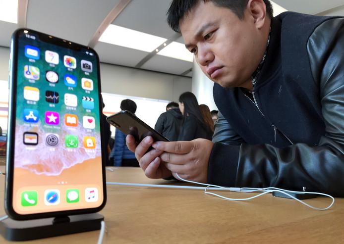 De nieuwe iPhone X