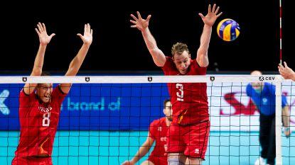 Red Dragons boeken op EK volley simpele zege tegen zwakke broertje Oostenrijk