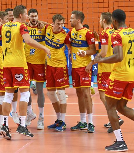 Corona nekt Europees avontuur Apeldoornse volleyballers Dynamo, 'gezondheid gaat voor'