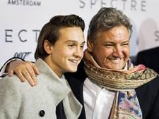 René Froger en zoon weer het ijs op