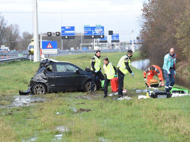 Altijd opletten op de A2 bij Nieuwegein: 'Twee wielen op de vluchtstrook en het kan al gebeurd zijn'