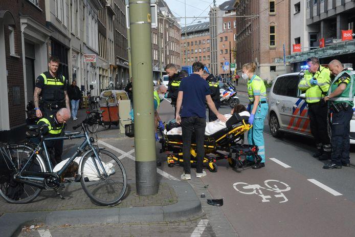 Twee fietsers raakten gewond