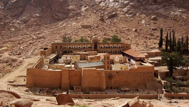 Het Sint-Catharinaklooster in Egypte.