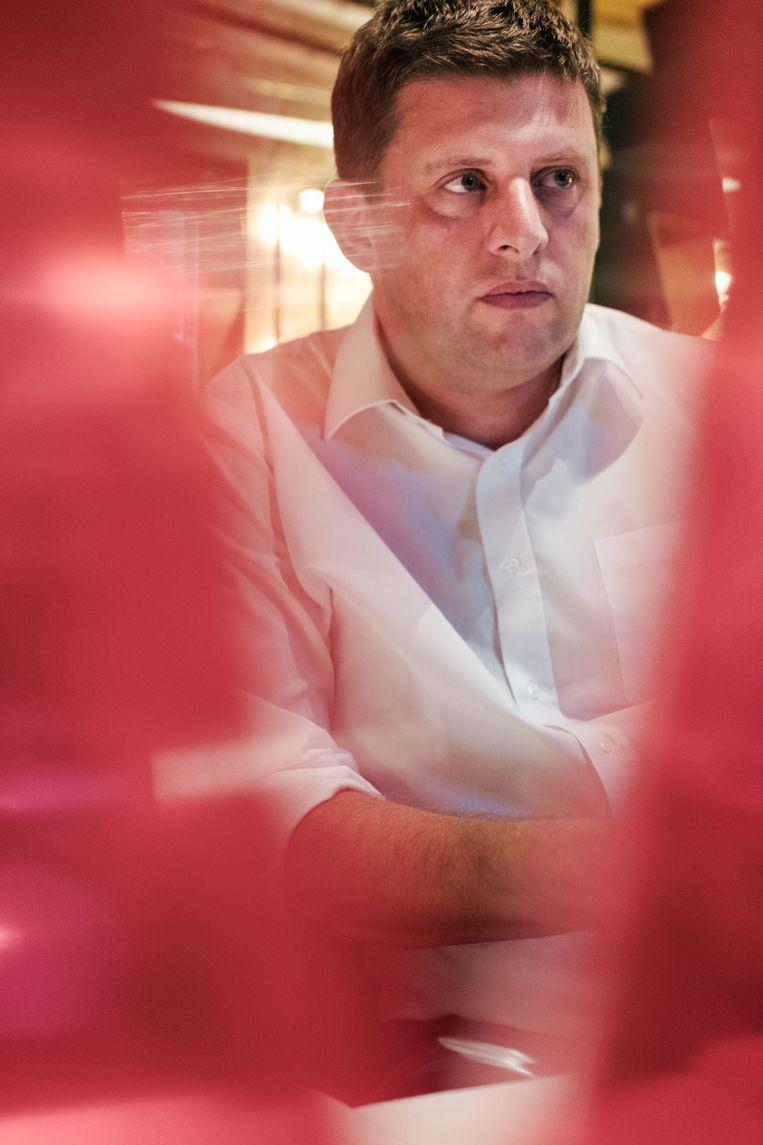 """Anick Berghmans sp.a-voorzitter john crombez: """"als het slecht zou gaan in de"""