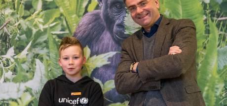 Jayden (11) ziet kansen voor waterpomp in Apenheul