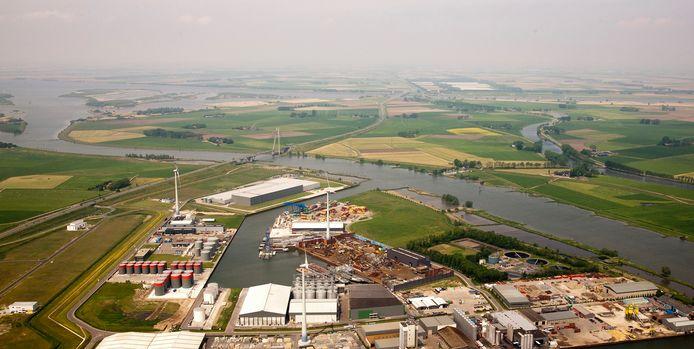 De Zuiderzeehaven in Kampen.