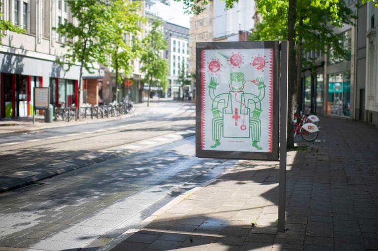 Antwerpen Billboard Project: Handschoenmarkt.