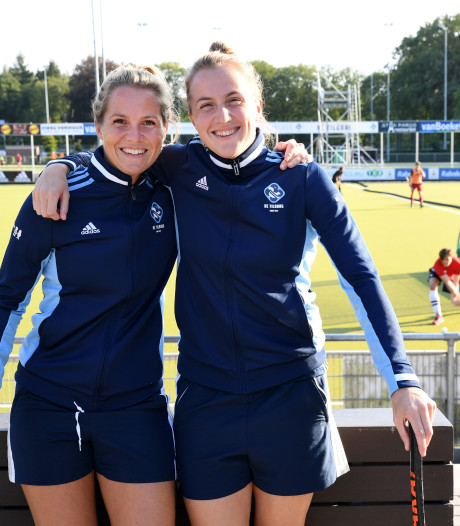 Zussen Frederique en Charlotte Derkx herenigd bij HC Tilburg