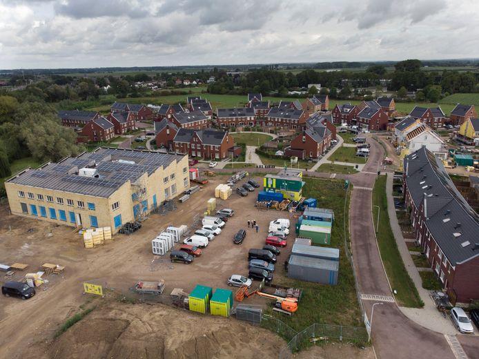 De nieuwbouw van Ida Gerhardt Academie schiet op in Geldermalsen.