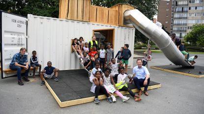 """Drie mobiele speelcontainers voor Leuvense kinderen: """"Vakantiegevoel in eigen stad compleet maken"""""""