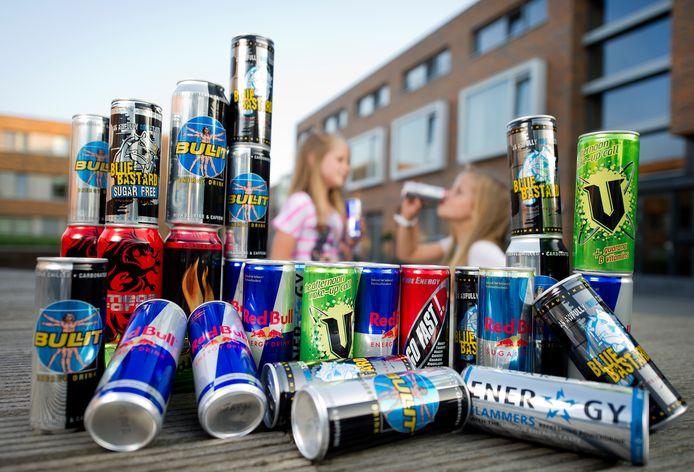 Energiedrankjes, populair bij veel jongeren. Foto ter illustratie.