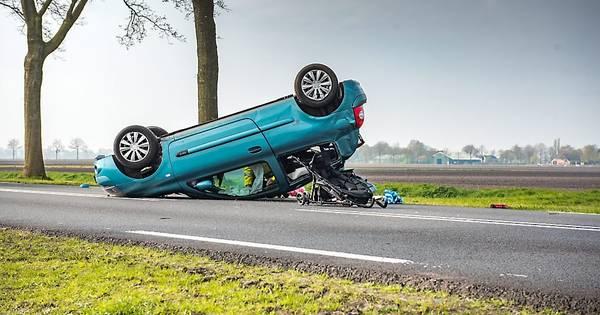 Kwart van alle auto-ongelukken gebeurt binnen eerste drie minuten.