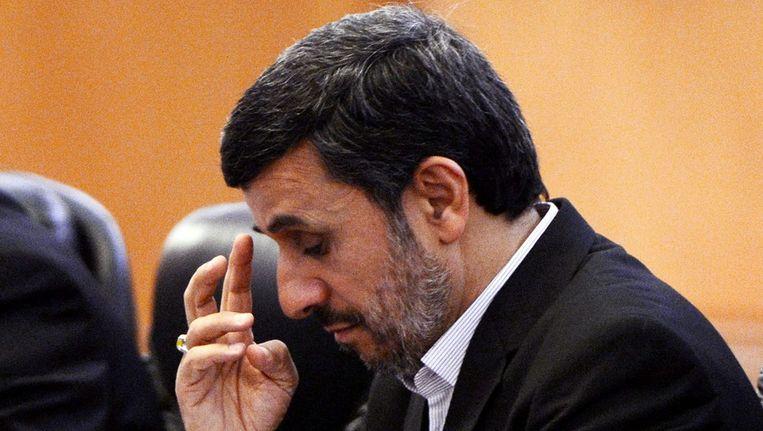 President Ahmedinejad van Iran Beeld EPA