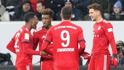LIVE. We voetballen weer in Hoffenheim. Kan de thuisploeg in de tweede helft nog iets forceren tegen Bayern? (0-2)
