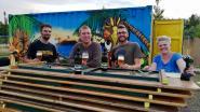 Bar Baraque schenkt eigen bier 'Barachus'