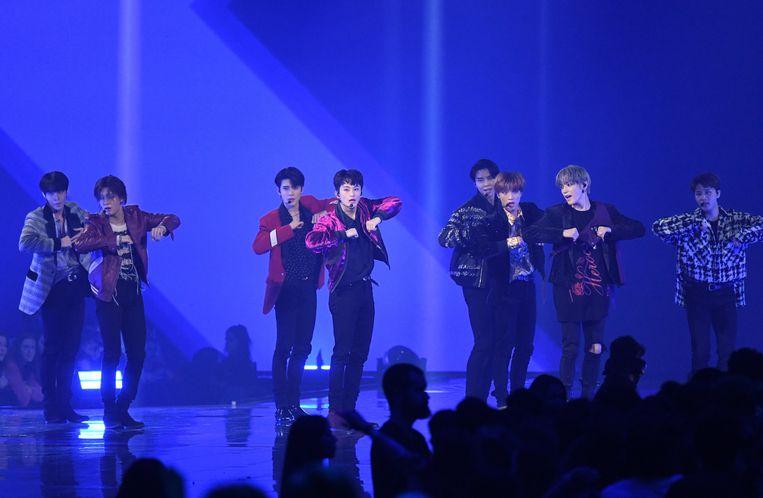 De jongens van BTS.