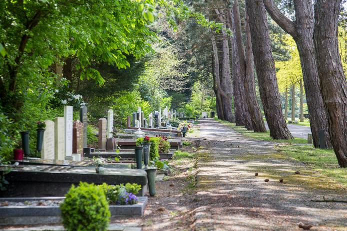 Begraafplaats Westduin. Foto ter illustratie.
