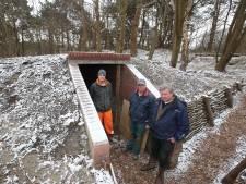 Weer twee bunkers opgeknapt
