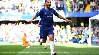 """Lof voor hattrickheld Eden Hazard: """"Misschien is hij wel de beste speler in Europa"""""""